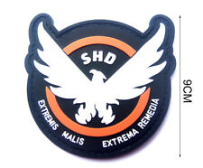 AIRSOFT -GAME -COSPLAY THE DIVISION SHD RUBBER 3D PVC BADGE MORCLA Rubber PATCH