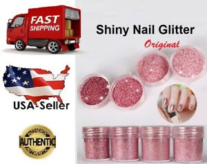 Best Dust Chrome Pigment Rose Gold Sequins DIY Manicure Nail Art Glitter Powder