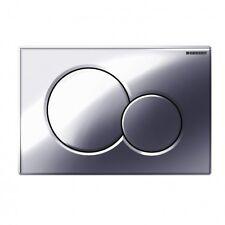 Geberit 115.770.21.5 Polished Chrome Sigma01 Dual Flush Plate for UP300