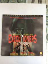 Executioners Hong Kong Movie Laser Disc