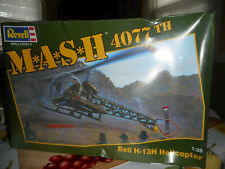 Revell 1/35 scale Mash 4077th Bell helicopter