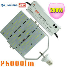480V LED Parking Lot Light 200W Retrofit Kit 347V Street Shoebox Light 5000K E39