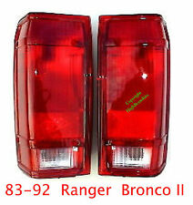 83 92 Ford Ranger & Bronco II Tail Lights Set, Left & Right Sides