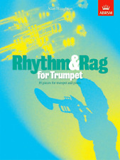 RHYTHM AND RAG FOR TRUMPET Alan Haughton ABRSM Sheet Music Book Shop Soiled