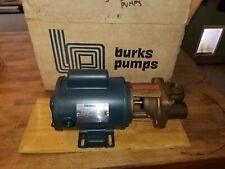 Burks Turbine Pump 3CT6M Brand New in original box with installation manual