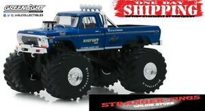 GREENLIGHT 1:18 1974 FORD F250 BIGFOOT #1 Monster Truck Monster Jam Grave Digger