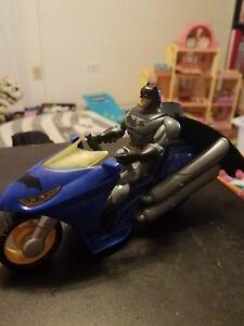 Batman Batcycle with Action Figure Justice League Target Exclusive