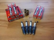 4x RR15YS = Brisk Performance YS Silver Single Electrode Upgrade Spark Plugs