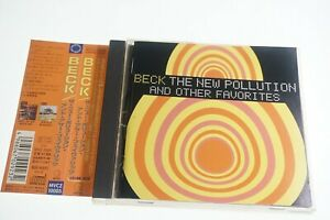 """BECK""""THE NEW POLLUTION""""AND OTHER FAVORITES MVCZ-10005 JAPAN CD OBI A14575"""
