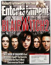 Entertainment Weekly 564 Oct 20 2000  Blair Witch 2 Richard Farnsworth Spike Lee