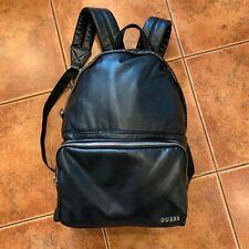 Guess Branded Backpack. Waist Shoulder Bag. Men. Black. Used.
