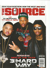 THE SOURCE MAGAZINE DEC 2014/JAN 2015 MEN OF THE YEAR 3 THE HARD WAY