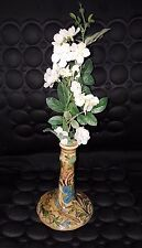 Antique Persian Pottery Glazed Candle Holder Hand made
