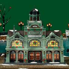 DEPT 56 CHRISTMAS IN THE CITY  EAST HARBOR FERRY TERMINAL
