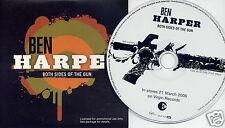 BEN HARPER Both Sides Of The Gun UK 11-trk promo CD CDVUSDJ279