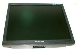 "Samsung  E1720NR  17"" LCD Monitor 100-240 VAC 50/60 Hz  20 Watt 0.4 Amp  NO BASE"