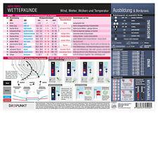 Wetterkunde - Info-Tafel A4 # Wind Wetter Dreipunkt Boot Schiff # 9783934705005