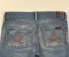 7 For All Mankind Jeans Bootcut A Pocket Size 26 Women's Stretch
