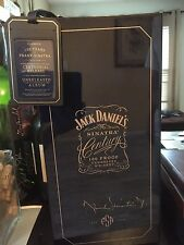 SIGNED Frank Sinatra Centennial Jack Daniel's Whiskey Box And Bottle