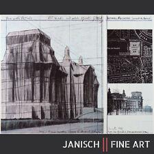 """CHRISTO - """"Reichstag I"""", handsigniert, 1992 - verhüllter Reichstag!"""