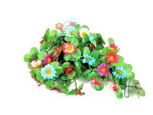 Blumen Girlande Sonnenblume Bunt Deko für Lenker Tasche/Korb Fahrraddeko 03954 B