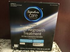 Signature Care Hair Regrowth Treatment for Men EXP 12/20 Minoxidil 5%