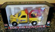 Shinsei Mini-power 612 YELLOW American Custom Pick-up Wrecker Truck 130 Scale