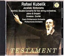 KUBELIK CONDUCTS- Smetana/Dvorak/Martinu/Janacek - Orchestral Works CD 2000