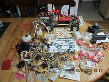 VINTAGE RARE RC BLUE BIRD CONQUEROR MK VII 1/8 BUGGY WITH TONS OF EXTRAS NEW & U