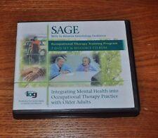 SAGE Skills to Advance Gerontology Occupational Therapy Training Program 7 DVD