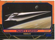 Star Wars Galactic Files Blue Parallel #265 Padme's Starship
