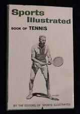 BOOK OF TENNIS Sports Illustrated WILLIAM TALBERT 1961 Book Hardback Dustjacket