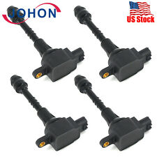4 PCS Front Ignition Coils Pack for 2002-2016 Nissan Sentra Almera 224486N000