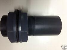 Koi Pond Tank Connecter 1.5 Pipe Fittings imperial PVC Presure