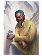 Postcard Betsy Graves Reyneau Aaron Douglas Nat'l Portrait Gallery Dc Mint