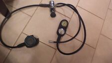 Scuba Regulator Genesis  2 GAUGE console FIRST AND SECOND STAGE