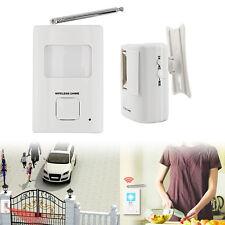 PIR Doorbell Wireless Infrared Movement Welcome Alarm Entry Door Bell Sensor TOP