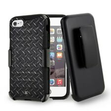 Rugged Dual Layered Case w/Stand+Holster Clip Cover for iPhone 7 / 8 / Plus