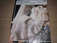 Baby DK/Double Knit Shawls Patterns