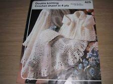 DK/Double Knit Shawls Patterns