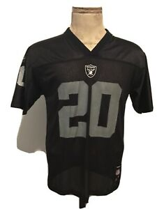 Reebok Oakland Raiders Darren McFadden #20 Jersey Youth Large Sz Boys 14-16 NFL