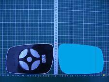 Außenspiegel Spiegelglas Ersatzglas VW Phaeton ab 2010 Li od Re asph Kpl Blau
