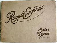 ROYAL ENFIELD Motorcycles - Motorcycle Sales Brochure - 1915