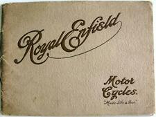 ROYAL ENFIELD Motorcycles - Motorcycle Sales Brochure - 1915