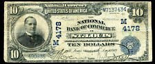1902 $10 DB THE NATIONAL BANK OF COMMERCE IN ST. LOUIS, MO CH. #4178
