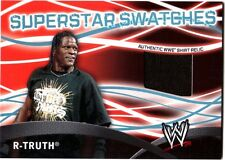 WWE R Truth Topps 2011 Superstar Swatches Event Used Shirt Relic Card FD