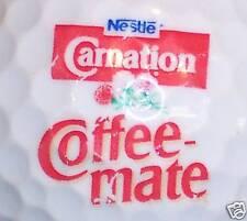 FOOD - COFFEE MATE NESTLE        LOGO GOLF  BALL BALLS