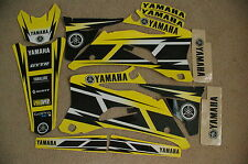 YAMAHA HURRICANE YELLOW  GRAPHICS  YZ250F YZ450F   2006  2007 2008  2009