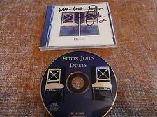 Elton John Duets Signed In Person  CD w/ COA  Sir Elton RARE