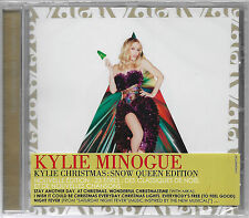 CD KYLIE MINOGUE - KYLIE CHRISTMAS SNOW QUEEN EDITION [FRENCH CD W/ NIGHT FEVER]
